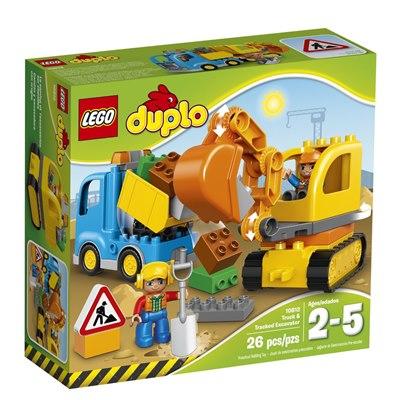 לגו דופלו משאית ומחפרון – 10812