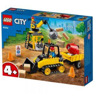 לגו סיטי – בולדוזר בנייה– 60252