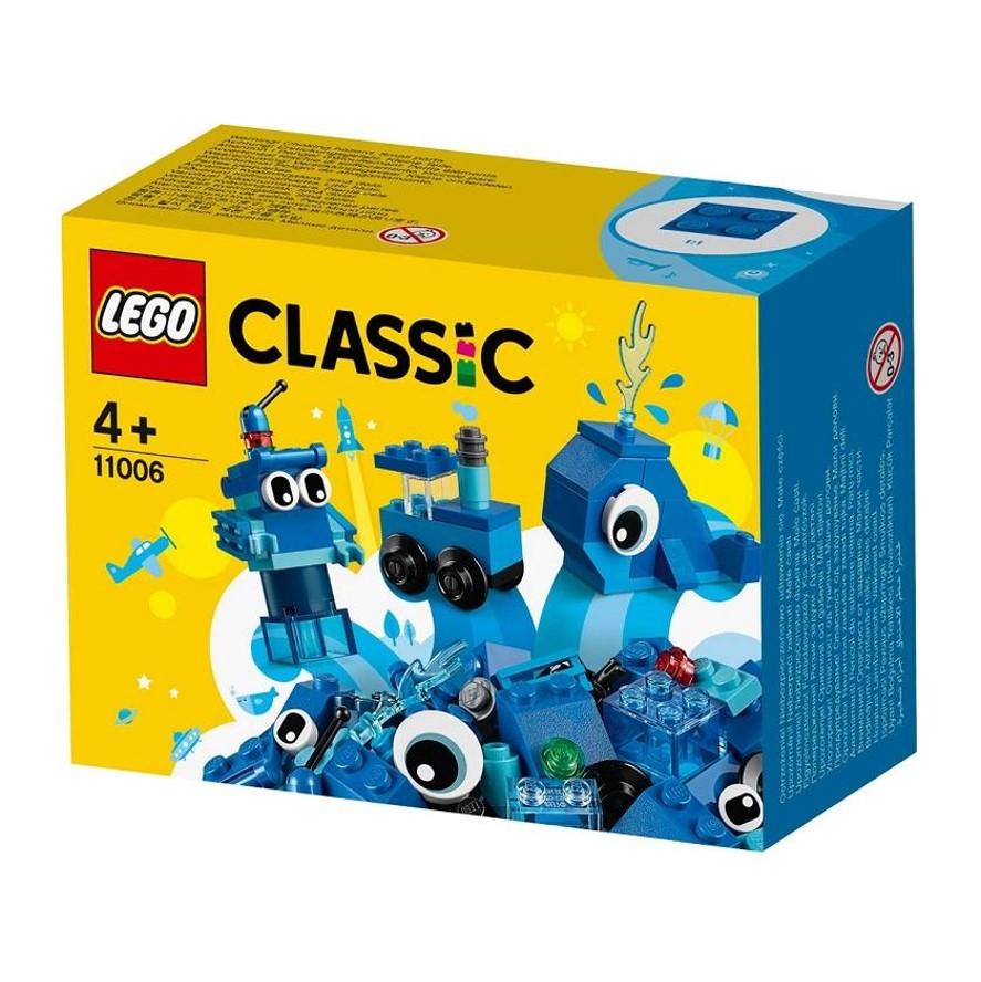 לגו קלאסי ערכת לבנים כחולות  – 11006