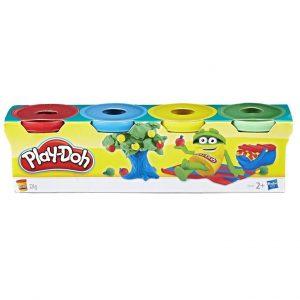מארז מיני 4 בצקים – פליידו משחקי בצק Play-Doh