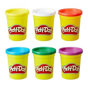 מארז 6 בצקים – פליידו משחקי בצק Play-Doh