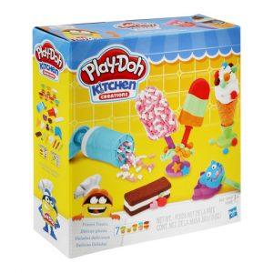 פינוקים קפואים – פליידו משחקי בצק Play-Doh
