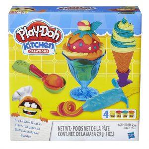 גלידת פינוק – פליידו משחקי בצק Play-Doh