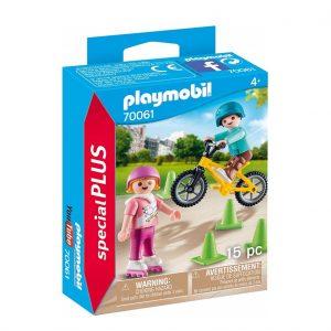70061 ילדים עם אופניים ורולרבליידס – פליימוביל