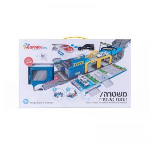 תחנת משטרה הופכת משאית דוברת עברית