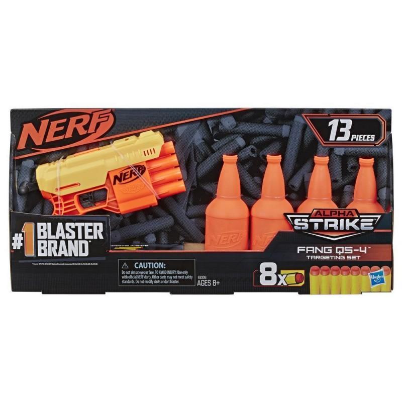 אקדח נרף מטרות בקבוק – NERF ALPHA-STRIKE FANG QS-4