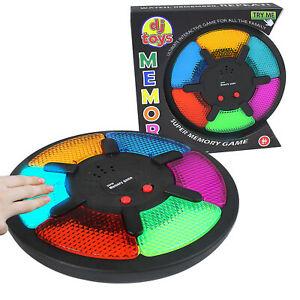 משחק זיכרון צבעים ואורות