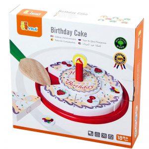 עוגת יום הולדת מעץ – ויגה