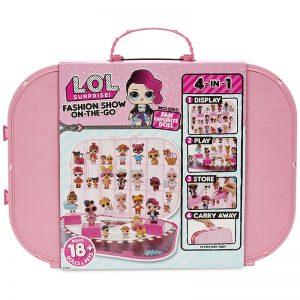 L.O.L – תיק עם בובה ומסלול אופנה!