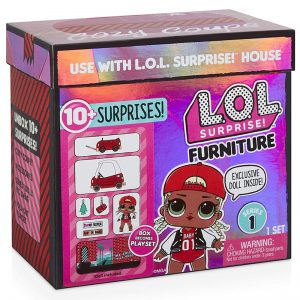 L.O.L קופסת הפתעות – בובה ורהיטים!