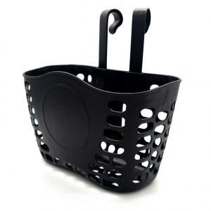 סלסלת אופניים שחורה מפלסטיק