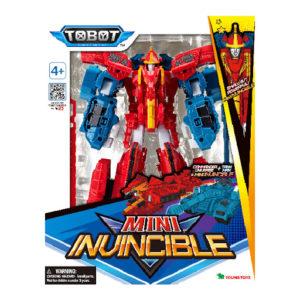 טובוט מיני אינווינסבל  – Tobot Mini Invincible