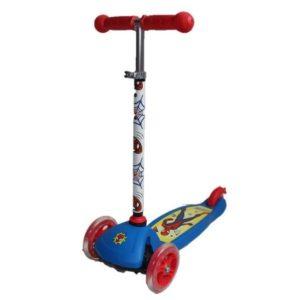 קורקינט ספיידרמן 3 גלגלים לילדים