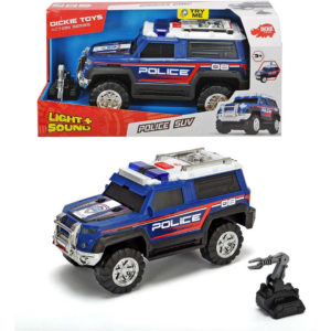 ג'יפ משטרתי כולל רובוט חבלה לילדים של חברת DICKIE