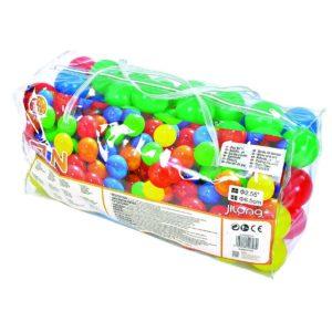 100 כדורי משחק צבעוניים בתיק נשיאה