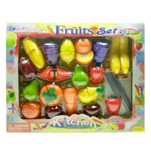 סט פירות 30 חלקים לילדים