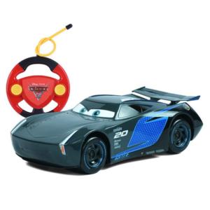 מכונית על שלט מקווין ג'קסון סטורם מהסרט CARS