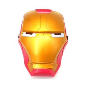 מסיכת איירון מן עם אורות לילדים- פורים