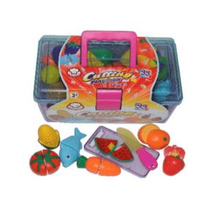 קופסת פירות 33 חלקים לילדים